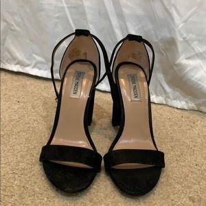Steven Madden Black Heels